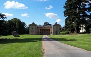 View of Compton Verney house